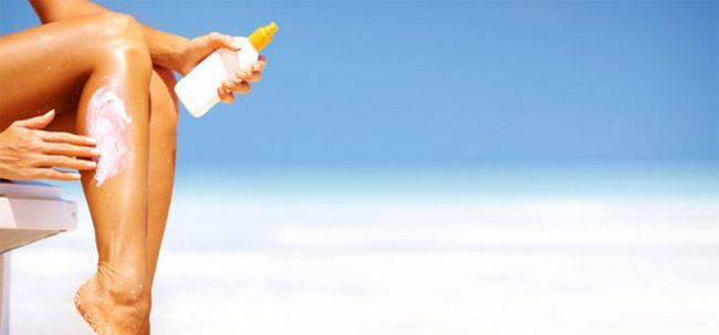 Wasserdichte Sonnenschutz: Fakten Revealed Foto