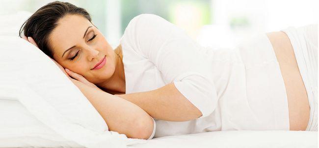 Was macht Ihre Haut, wenn Sie schlafen? Foto