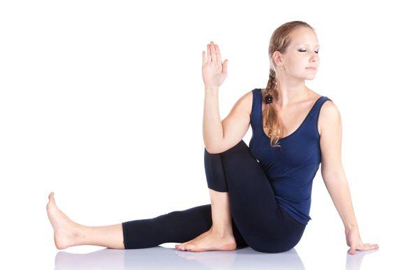vakrasana Yoga