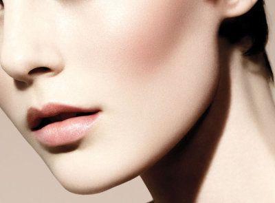 Schönheit fehlerlos Knochen Haut