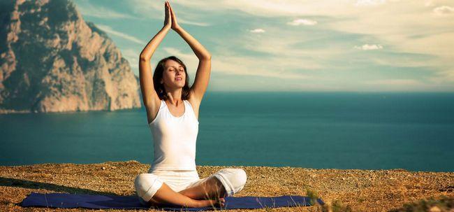 Was ist die Dankbarkeit Meditation und was sind sie Vorteile? Foto