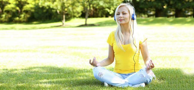 Was versteht man unter geführte Meditation und was sind die Vorteile? Foto