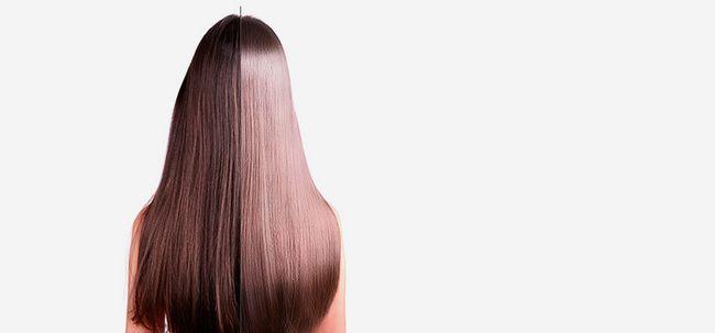 Was ist Haar Rebonding und wie es zu tun? Foto