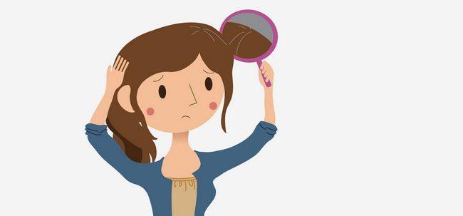 Was führt zu vorzeitiger Vergrauung der Haare und wie man es verhindern? Foto