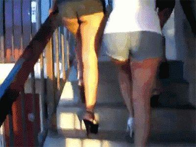 Treppen steigen statt Aufzug Mit