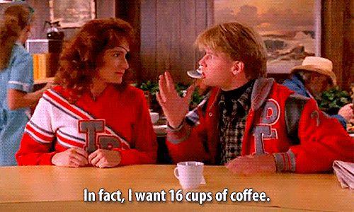 Tee und Kaffee Intake